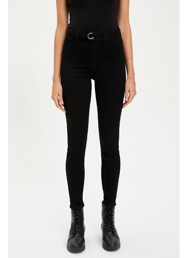 DeFacto Yüksek Bel Super Skinny Jean Pantolon Siyah